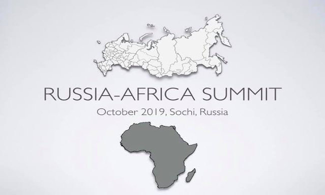 Felix Tshisekedi at the Russia-Africa summit in Sochi from 22 to 24 October
