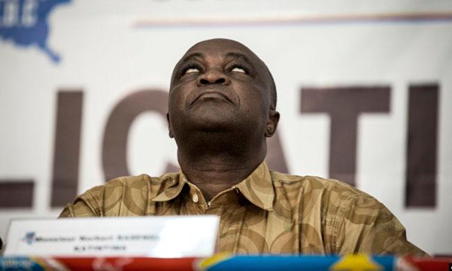 After his resignation, Norbert Basengezi thanks Joseph Kabila
