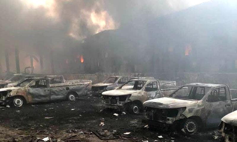 Ce qu'on sait de l'incident d'un entrepôt de la commission électorale — RDC