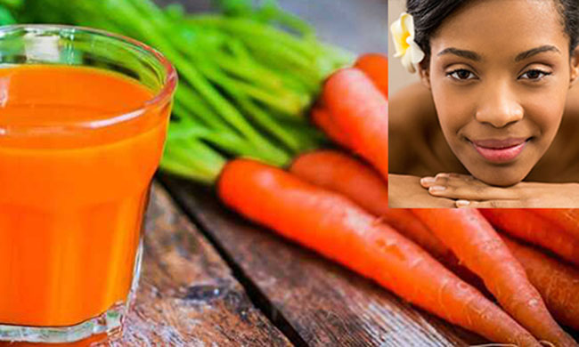 A carrot and honey mask recipe for mature skin