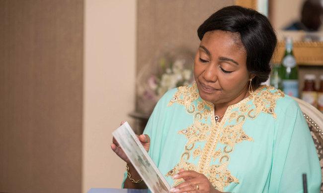 DRC: Denise Nyakeru visits Rossy Mukendi's family