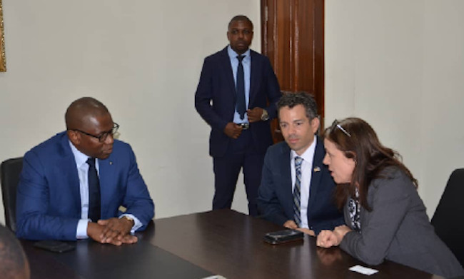 A structure provides a framework for cooperation to allow US companies to buy, exploit and use DRC minerals