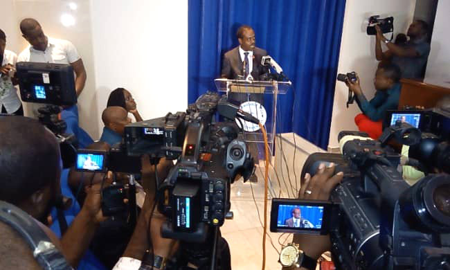 The Minister of Health speaks about the evolution of the Ebola epidemic in the provinces of Nord Kivu and Ituri