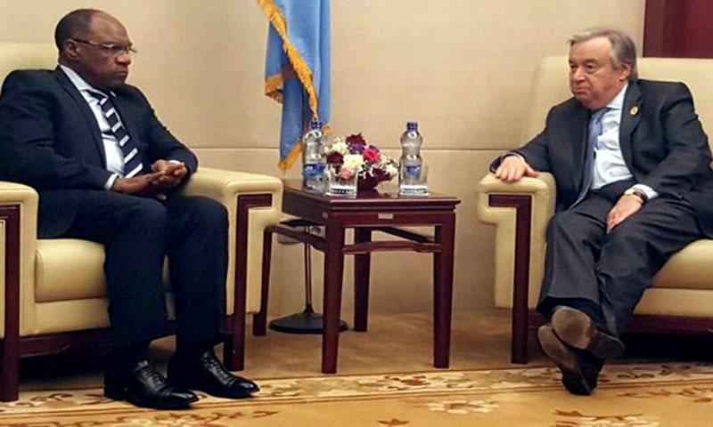RD Congo: le principe d'une visite du patron de l'ONU est