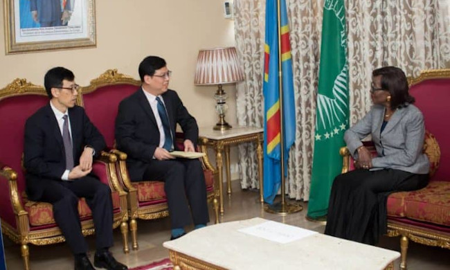 Foreign Affairs: Minister Marie Tumba reassured the health of Congolese living in China