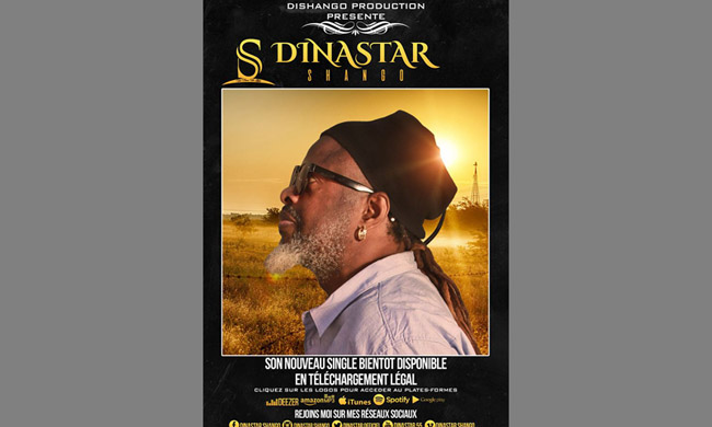 "Dinastar Shango: the clip of his single ""Limbisa ngai"" soon broadcast on Trace TV, Trace Kitoko, Digital Congo Tv, Rtnc ..."