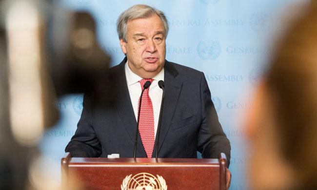Cornavirus: the cry of alarm of the UN Secretary-general, Antonio Guetteres