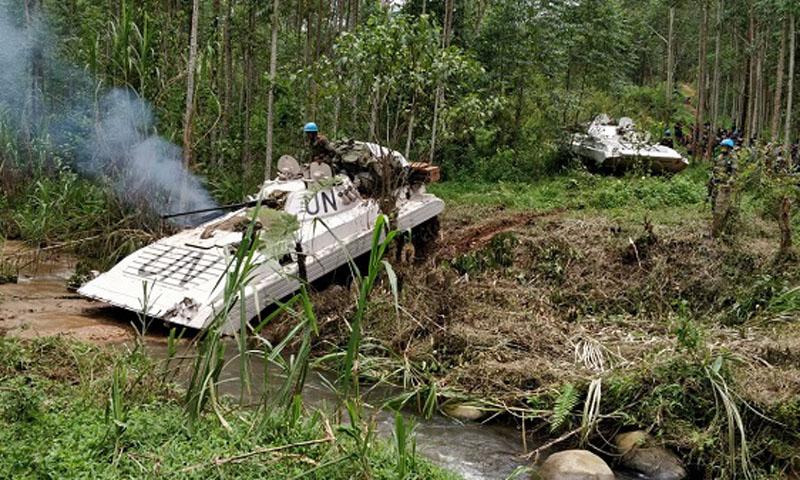 RDCongo:Deux soldats béninois portés disparus