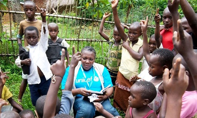 Unicef has registered 1380 orphaned and unaccompanied children due to the Ebola outbreak