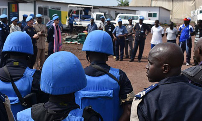 Elections 2018: the police left the Kitona training center in reinforcement in Beni