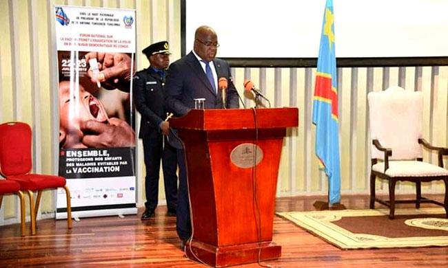 President Félix Antoine Tshisekedi determined to make universal health coverage one of his priorities