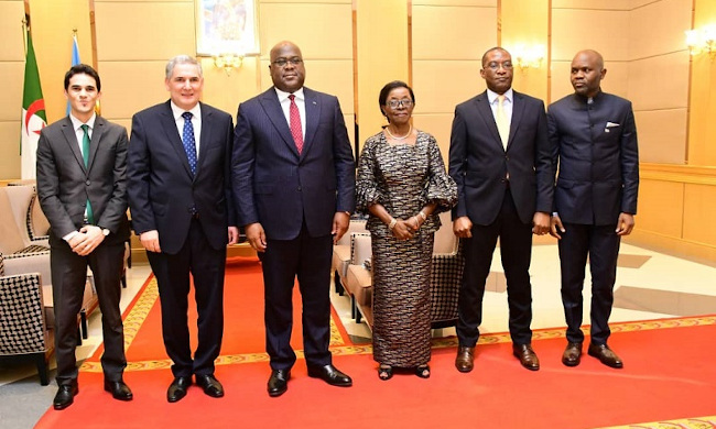 Three new ambassadors presented their credentials to the head of State to President Félix Tshisekedi