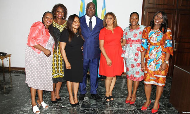 Felix Tshisekedi proposes to fight against the early marriage of young girls