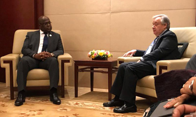 Felix Tshisekedi-António Guterres head-to-head: a wind of hope blows over the DRC