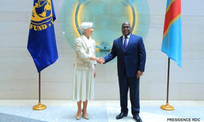 Felix Tshisekedi agrees for IMF's support