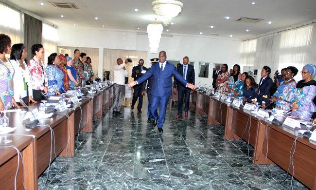 Felix Tshisekedi wants to make women the future of the DRC