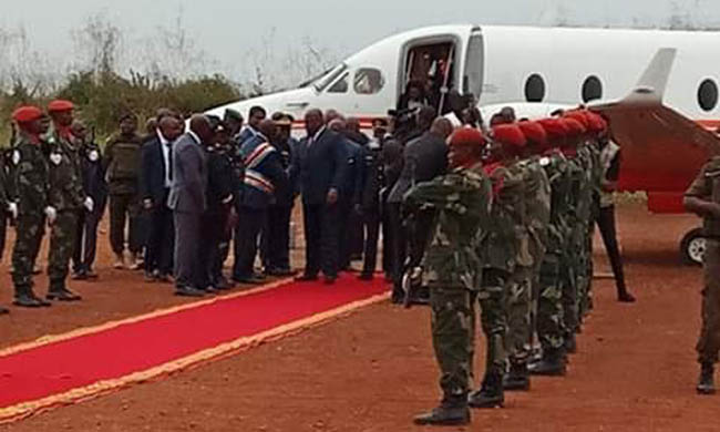 "Félix Tshisekedi returns to Kinshasa after the Opening Ceremony of 1st Forum on ""Electricity in the DRC"""
