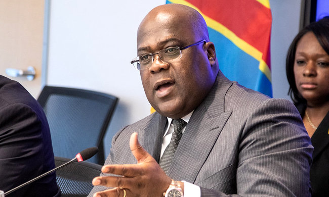 Félix Tshisekedi deplores the fact that ETDs are still run by named authorities