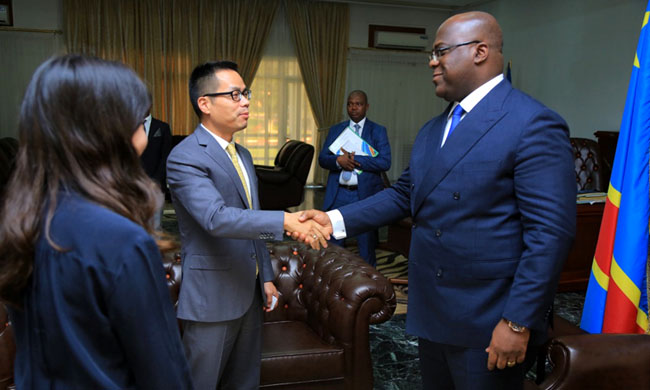 The Huawei Chinese company wants to train Congolese youth