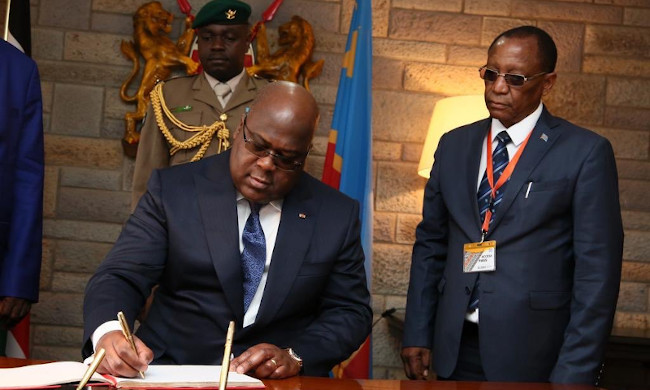 Felix Tshisekedi wants DRC to organize 10th session of ACP ministers in Kinshasa in 2020