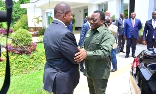 Meeting between the Central African President and Joseph Kabila