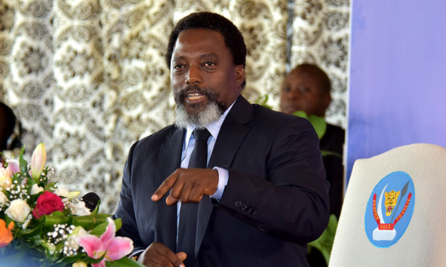 President Kabila: Election will go ahead in DR Congo