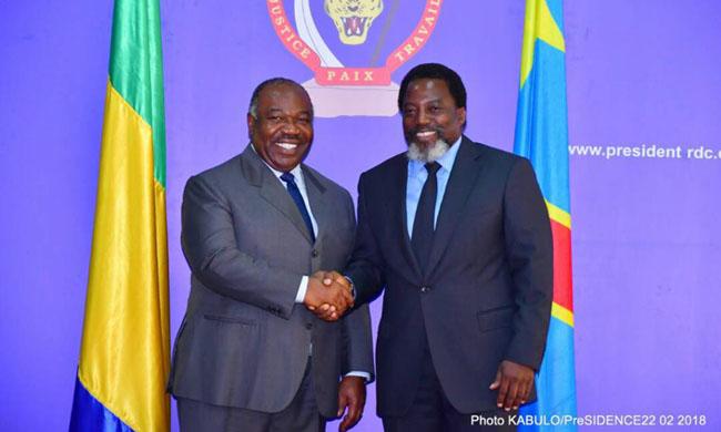 A special message of President Joseph Kabila to his colleague of Gabon Ali Bongo