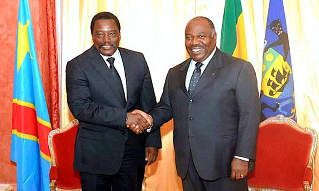 Arrival in Kinshasa of the President of the Gabonese Republic Ali Bongo Ondimba
