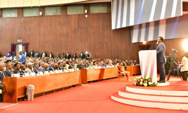 "NOGEC for the admission of the Head of State Joseph Kabila to the National Order ""Kabila-Lumumba"""