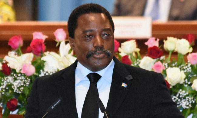 Before the two Houses of Parliament meeting in congress: Kabila will address to the nation