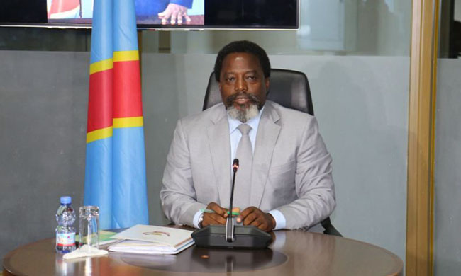 The Head of State Joseph Kabila does not exclude to be candidate in five years