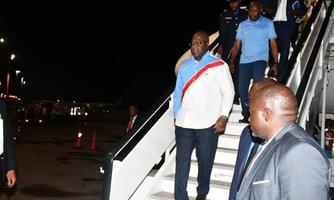 Back on the safe journey of Felix Tshisekedi inside the country