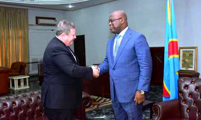 USA to strengthen cooperation with DRC on defense matter