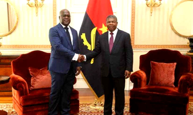 On the sidelines of his meeting with his Congolese counterpart Felix Tshisekedi, President João Lourenço suggests agreements with the DRC in the security field