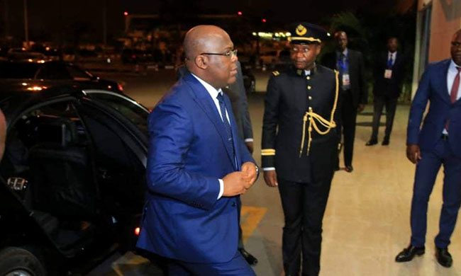 Deep Congo: Felix Tshisekedi on the move to the city of Kasumbalesa
