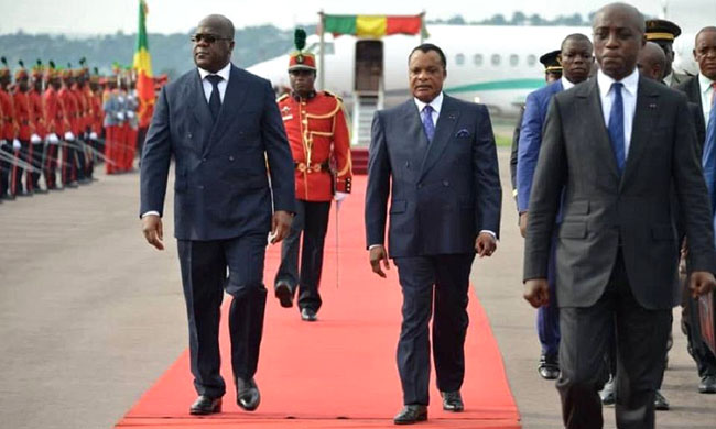 Félix Tshisekedi in Brazzaville: the triumph!