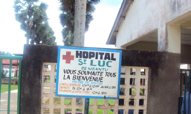 The mortuary of the Saint Luc hospital of Kisantu is saturated: the directing doctor draws the alarm bell