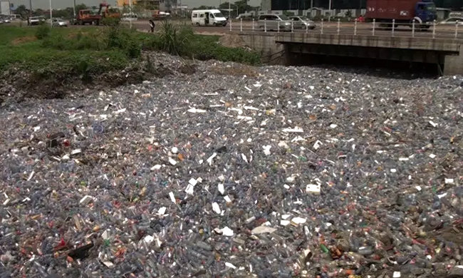 The impact of organic pollution of rivers underestimated in Kinshasa