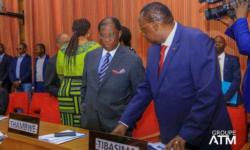 Alexis Thambwe Mwamba élu au perchoir du Sénat — RDC