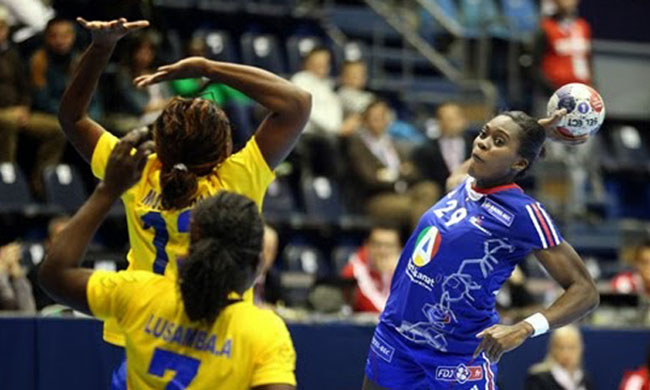 23rd CAN ladies handball: the DRC passes Angola on Thursday