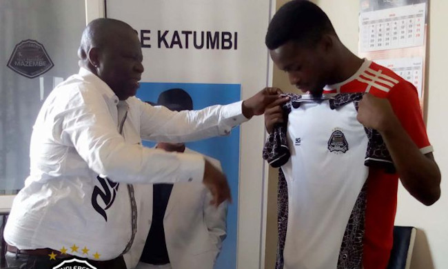 Foot: Mazembe now feeds on its training center