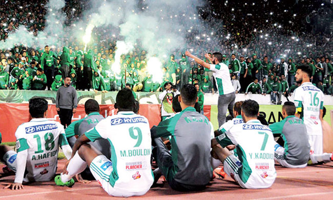 CAF and champions' Leagues Cup: Rajah de Casablanca finally determined to face V.Club in Kinshasa