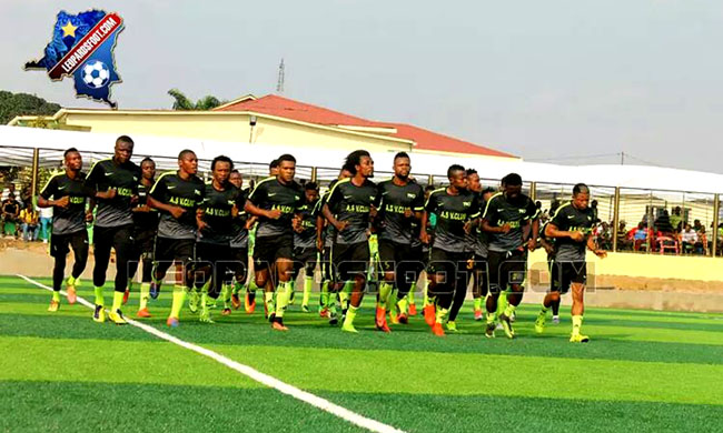 V. Club: Last victory against Nyiragongo before returning to Kinshasa