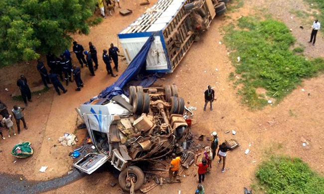 28 people killed in traffic accident at Luilu territory
