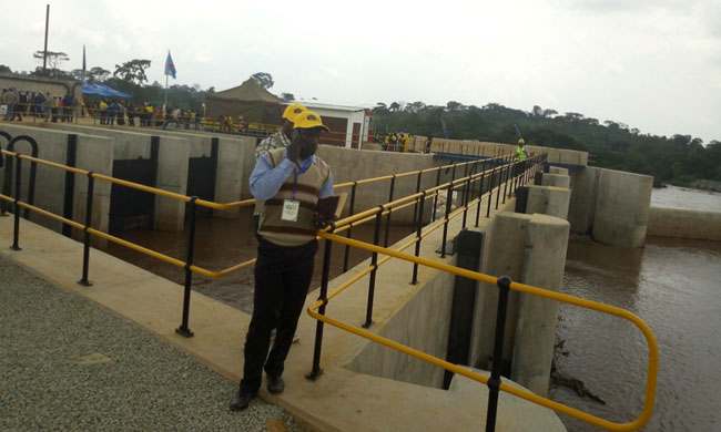 Kibali Gold commissioning the first hydroelectric power station