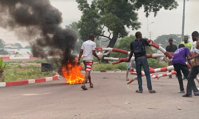 Kinshasa: demonstration to Limete against the suspension of a burgomaster resulting from the UDPS