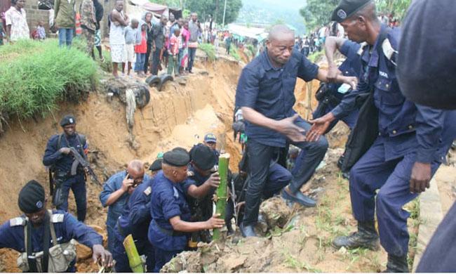 Torrential rains and Kuluna phenomenon in Kinshasa: vice-governor on the ground