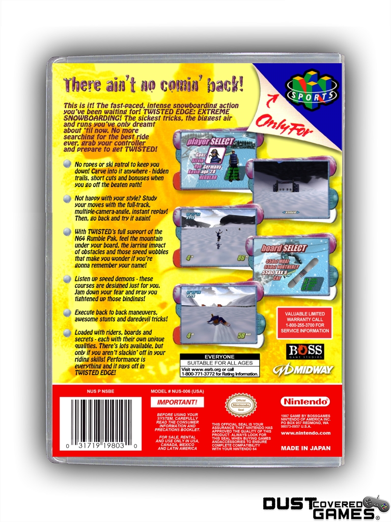 Twisted-Edge-Extreme-Snowboarding-N64-Nintendo-64-Game-Case-Box-Cover-Brand-New thumbnail 8