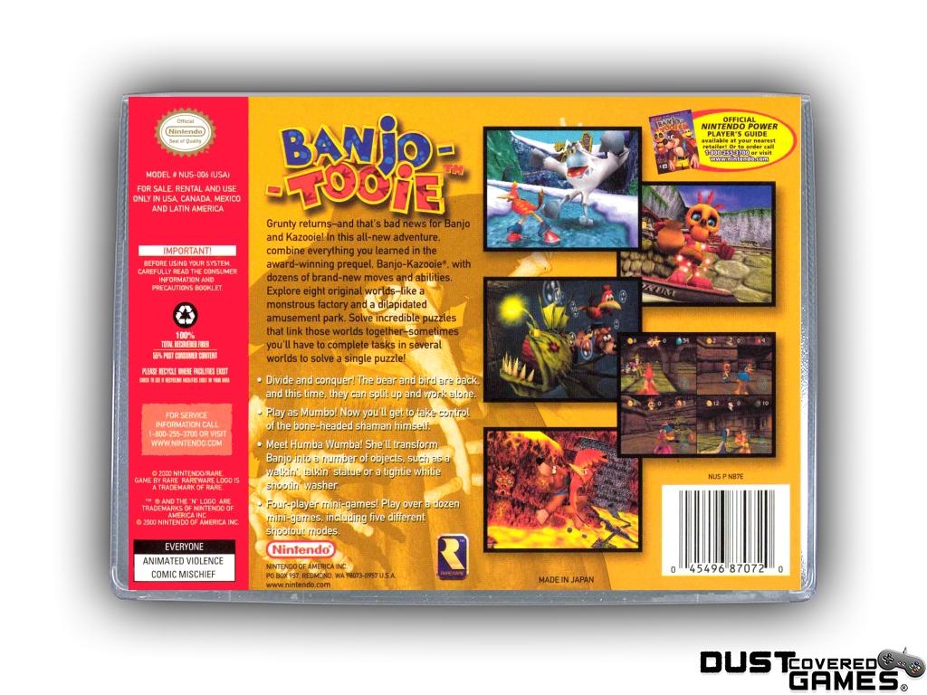 Banjo-Tooie-N64-Nintendo-64-Game-Case-Box-Cover-Brand-New-Professional-Quality miniatuur 4