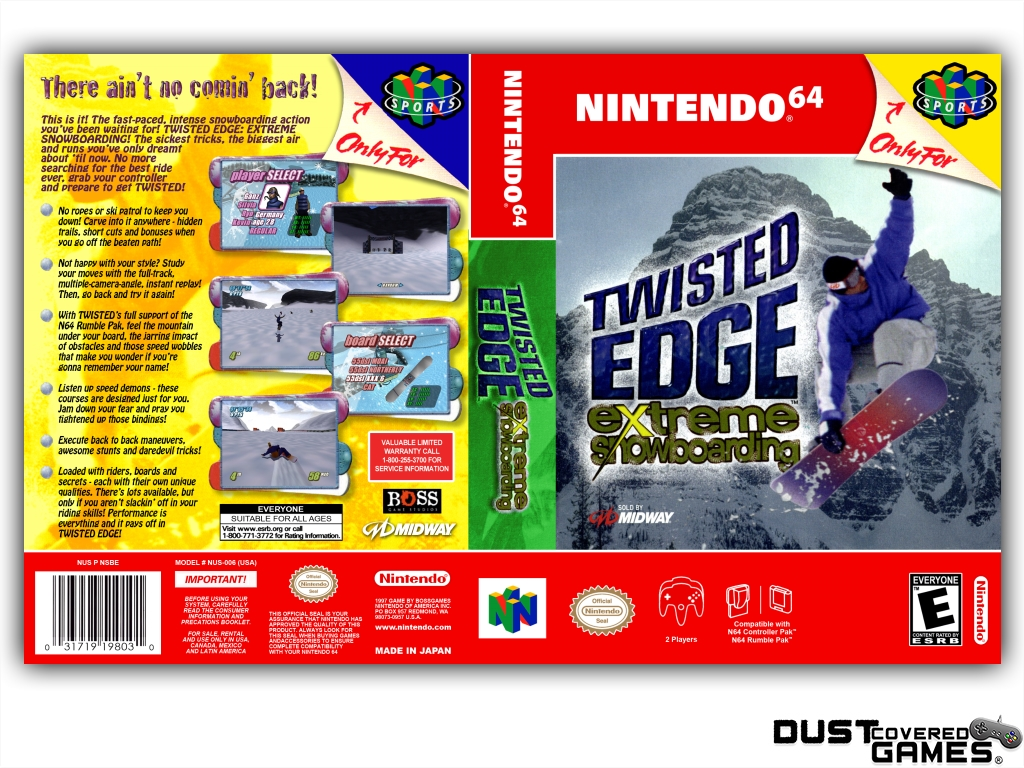 Twisted-Edge-Extreme-Snowboarding-N64-Nintendo-64-Game-Case-Box-Cover-Brand-New thumbnail 9
